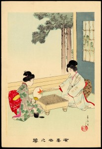 Shuntei_Miyagawa-Flowers_of_the_Floating_World-Playing_Go-Japanese_Chess-01-06-30-2007-8701-x800